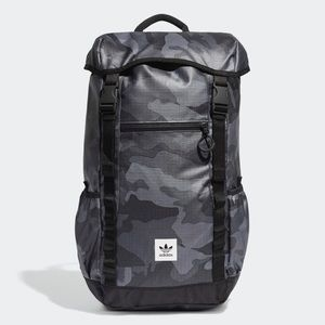 Adidas Street Toploader Backpack Black Camo